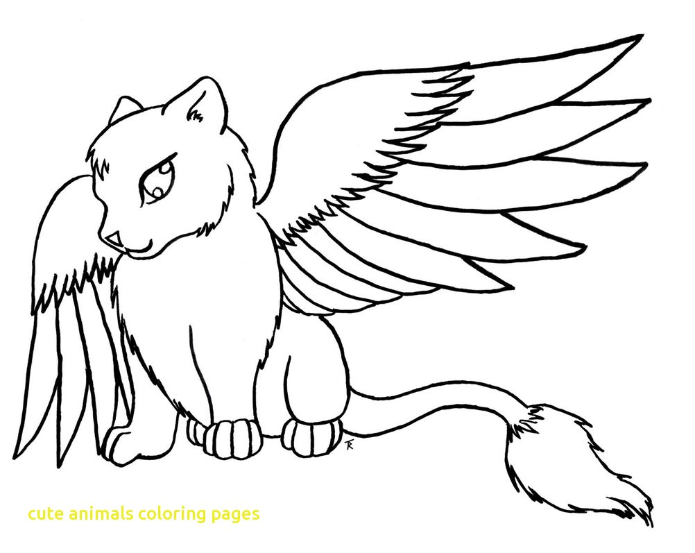 1002x797 Animals Coloring Pages Cute With Anime Many Readgyan Animals Cute