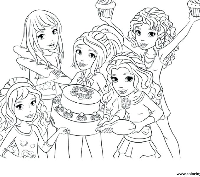 678x600 Friend Coloring Pages And Friends Coloring Pages Best Friends