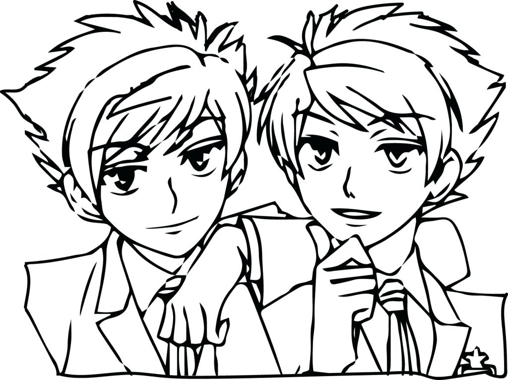 1024x766 Anime Boy Coloring Pages Printable Anime Coloring Pages Coloring