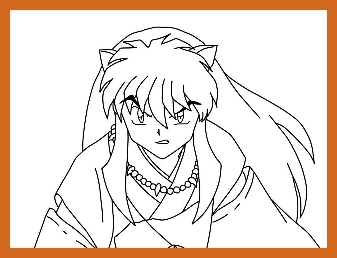 1090x834 Fascinating Cat Anime Boy And Girl Coloring Page Printable