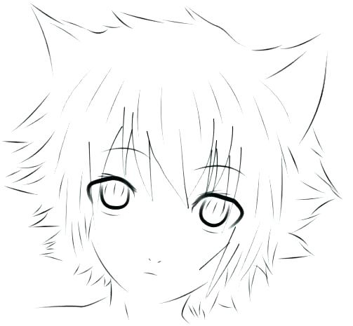 503x465 Anime Boy Coloring Pages Coloring Pages For Kids Books On Anime
