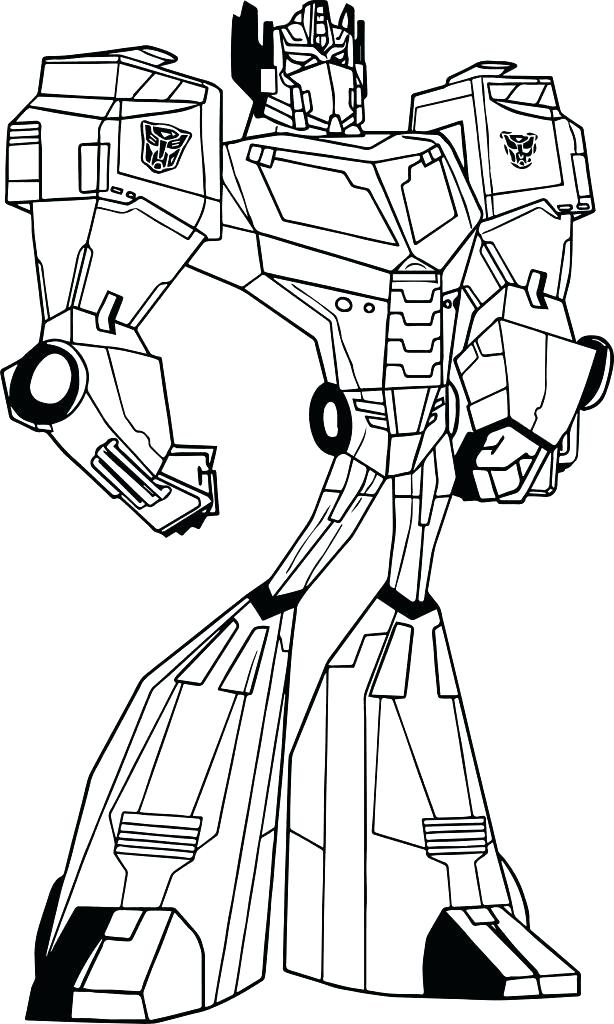 614x1024 Printable Transformers Coloring Pages