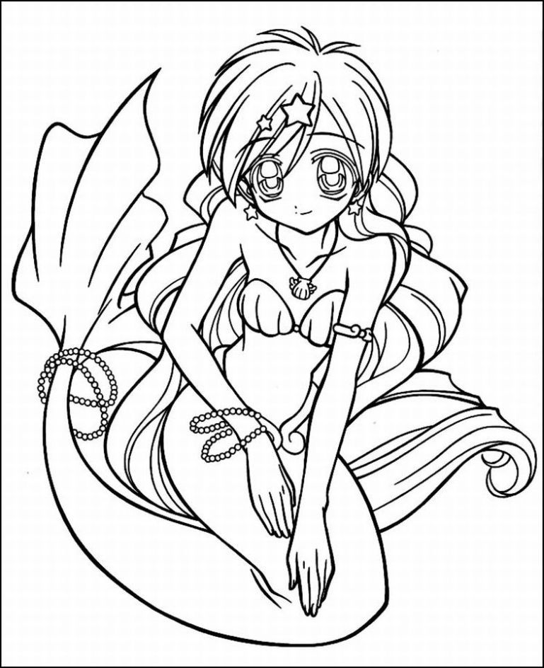 769x944 Anime Color Sheets Valentines Day Coloring Pages Anime