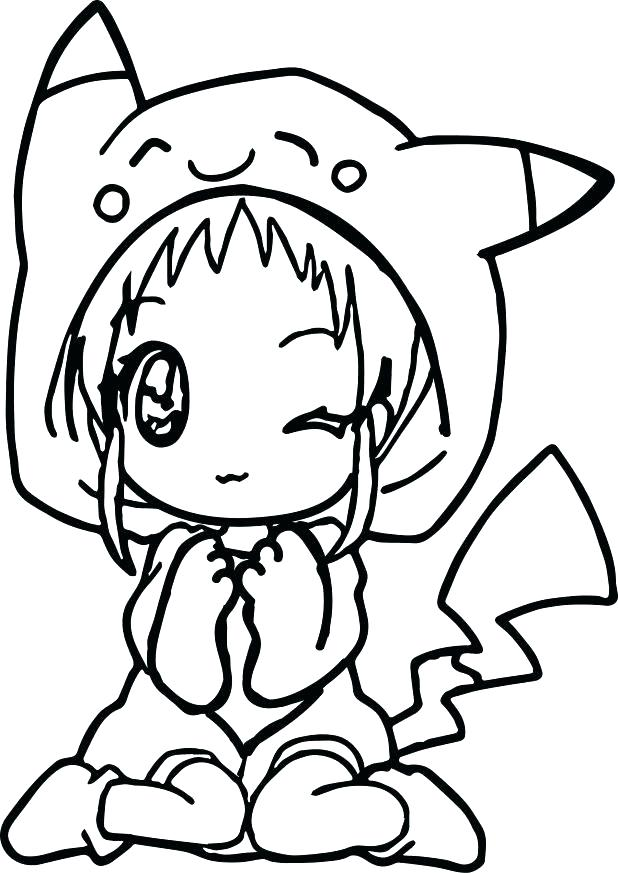 618x873 Anime Color Pages Female Coloring Pages Anime Coloring Pages