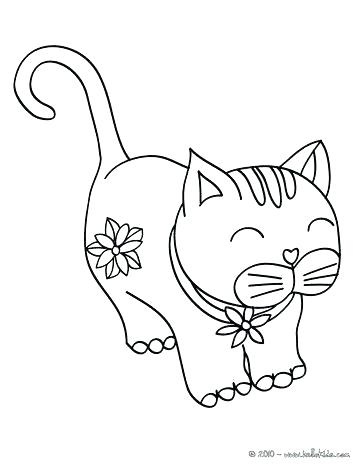 363x470 Cute Cat Coloring Pages Cat Coloring Pages Kitty Awesome With Cute