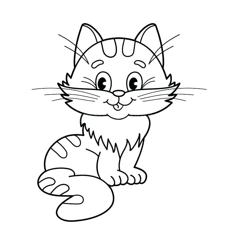 800x800 Cartoon Cat Coloring Pages Cats Coloring Pages Cat Coloring Book