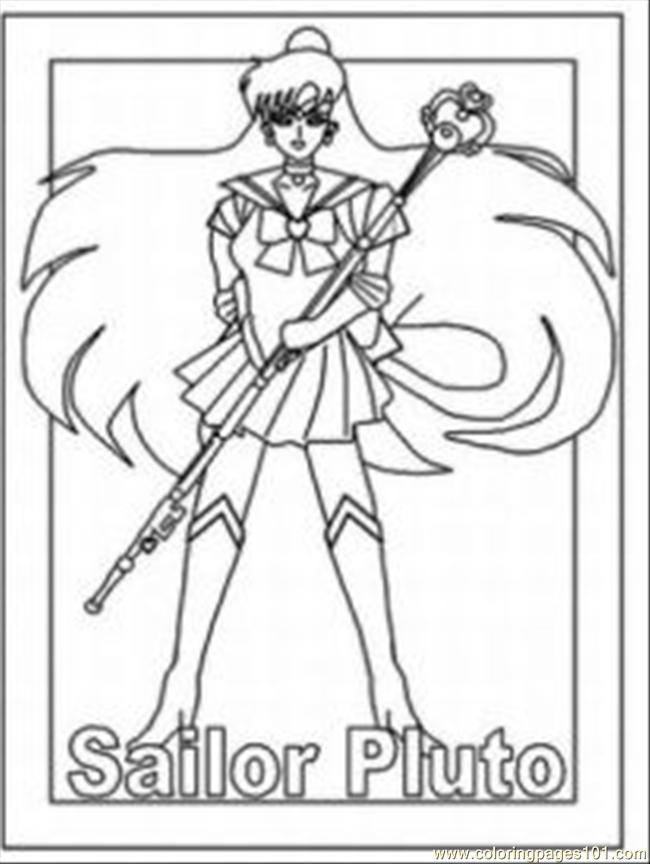 650x864 Anime Character Coloring Pages, Random Anime Character Coloring