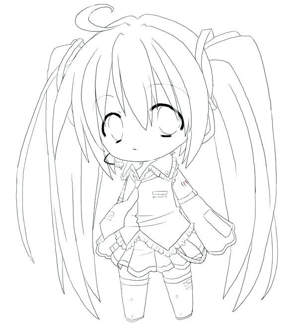 600x673 Coloring Pages Of Anime Characters Coloring Anime Pages Packed