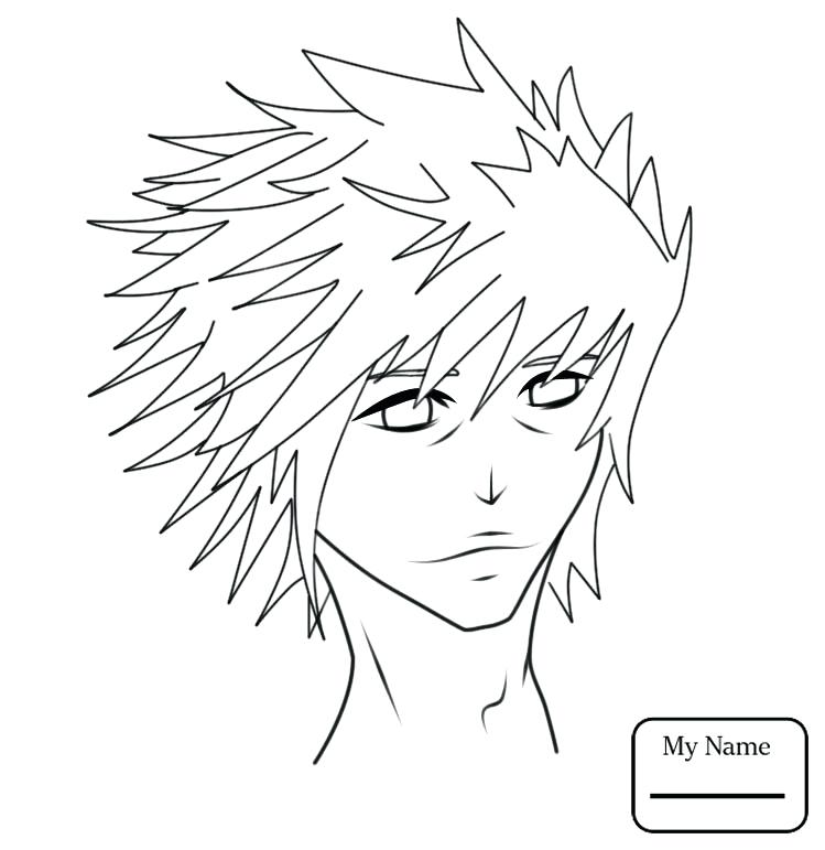 749x771 Coloring Pages Of Anime Characters Page