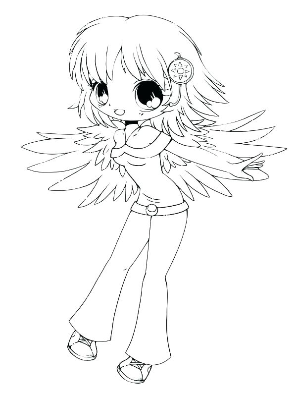 600x801 Anime Character Coloring Pages Anime Cartoon Characters Coloring