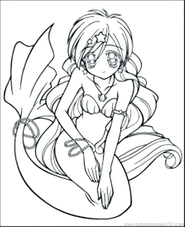 650x797 Surprising Coloring Pages Of Anime Characters Fairy Mermaid