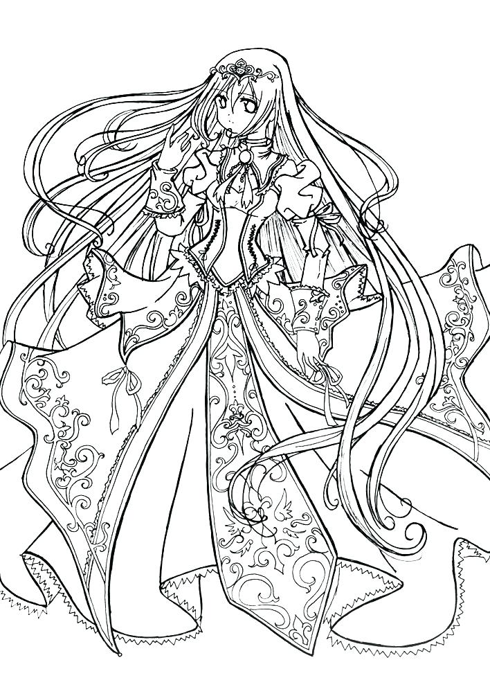 708x979 Coloring Pages For All Ages Anime Fairy Coloring Pages Anime Fairy