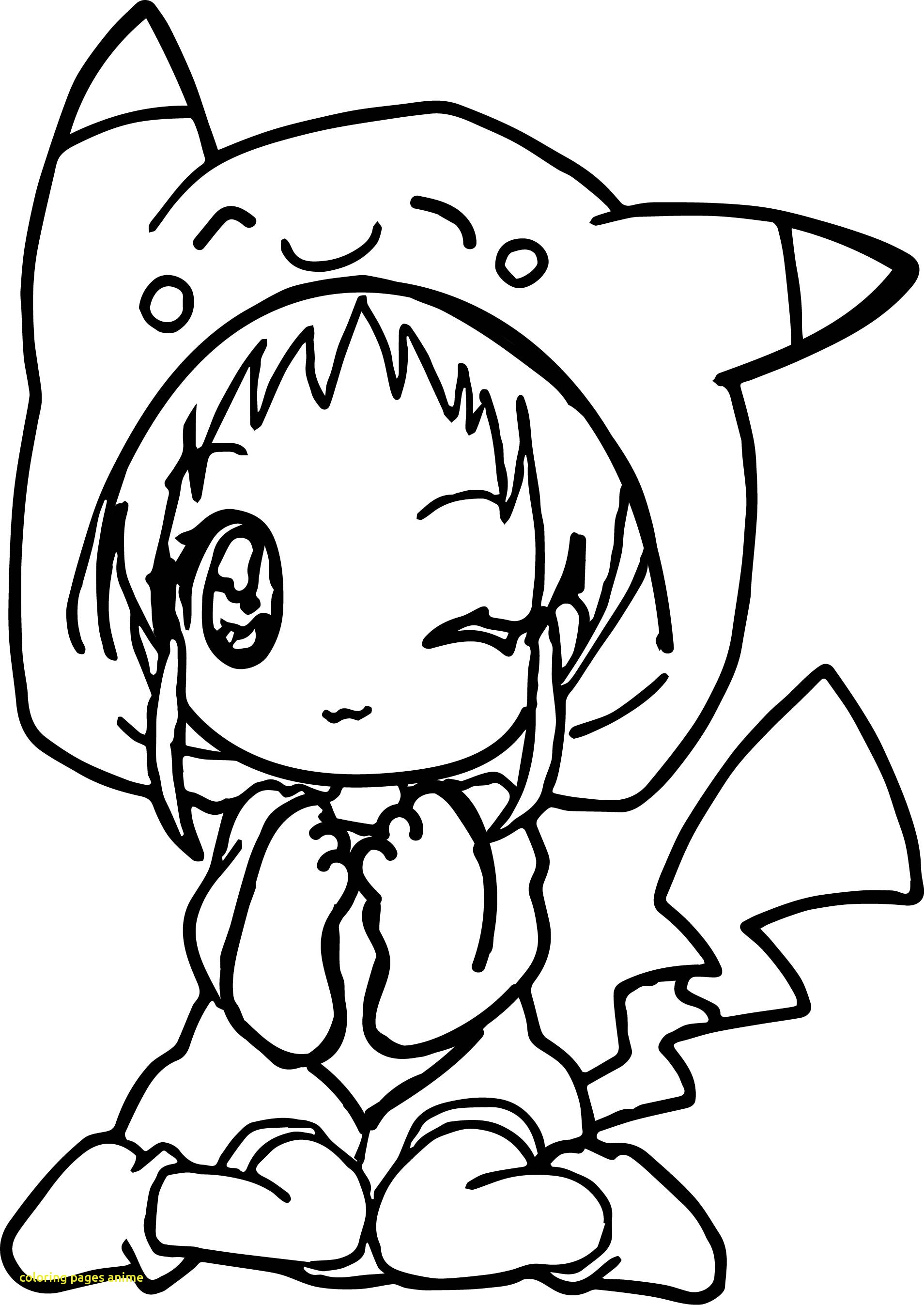 1908x2694 Coloring Pages Anime With Anime Girl Pikachu Dress Coloring Page