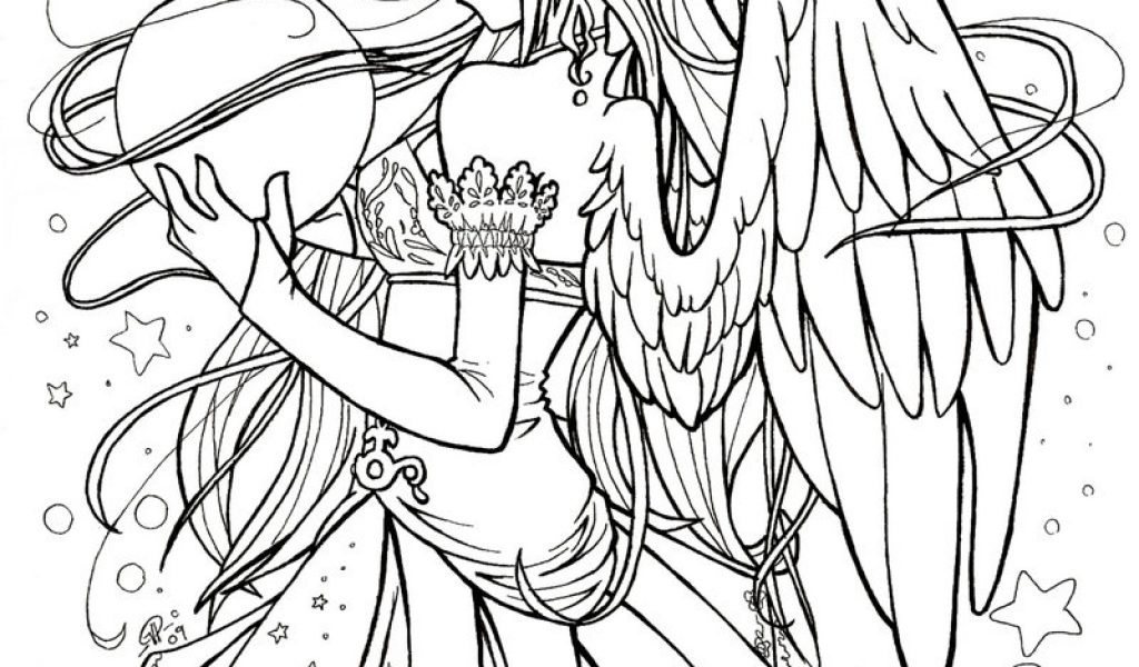 1024x600 E Anime Coloring Good Anime Coloring Pages For Adults