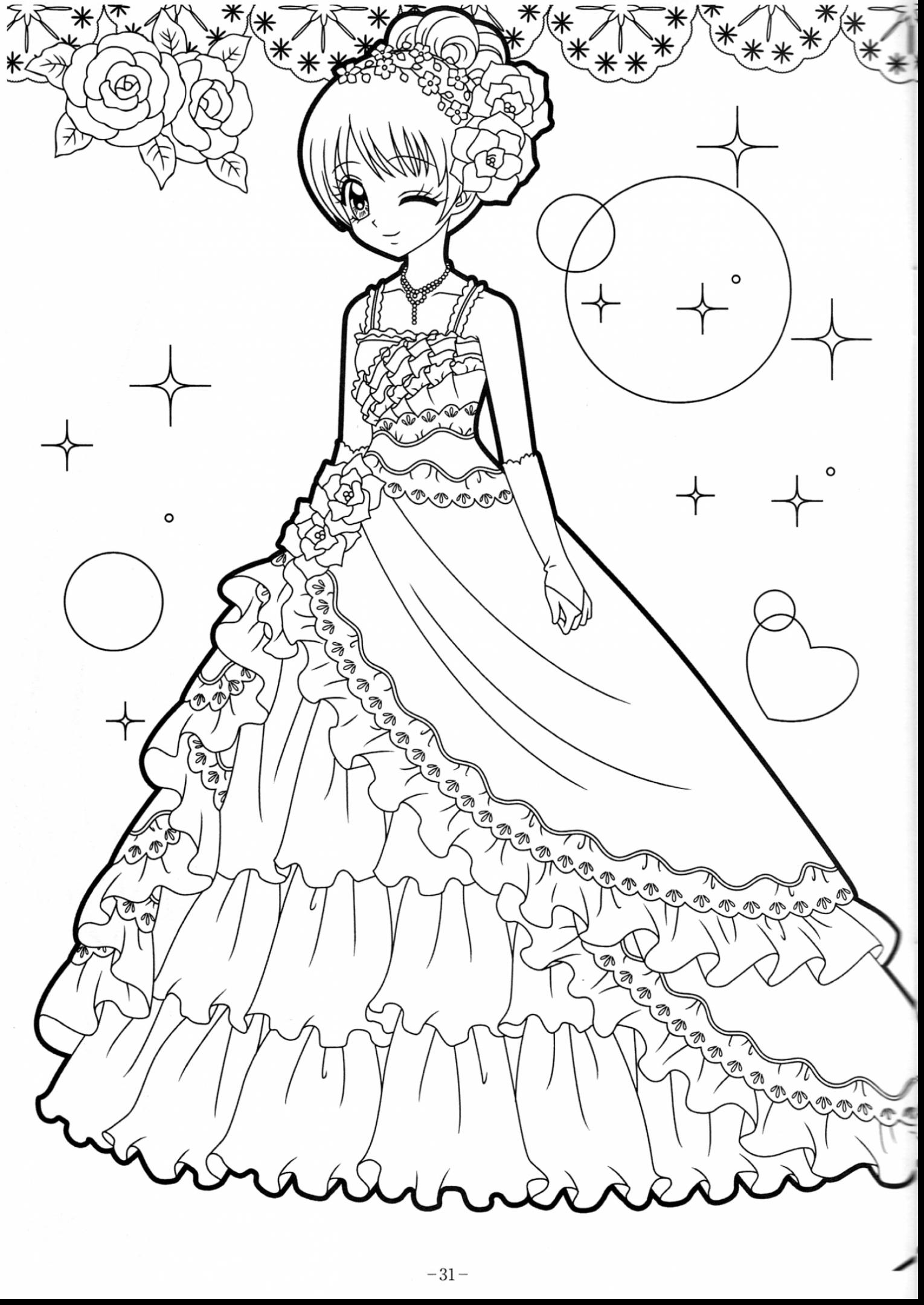 1530x2160 Inspiration Coloring Pages Anime Girl Within Studynow