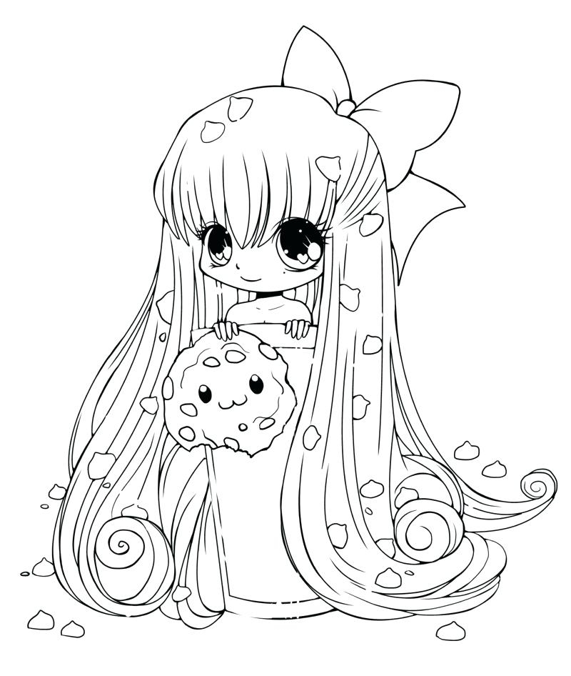 Anime Coloring Pages For Kids At GetDrawings Free Download