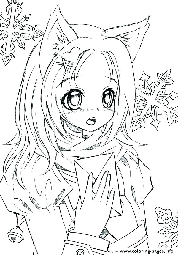 600x858 Free Printable Anime Coloring Pages Free Anime Coloring Pages