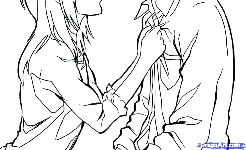 945x575 Cute Couple Coloring Pages Amusing Anime Couple Coloring Pages