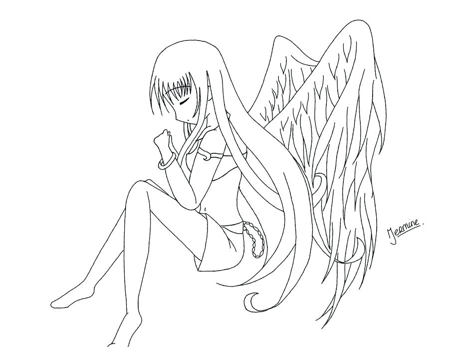 900x695 Emo Girl Coloring Pages Emo Coloring Pages Anime Angel Emo Anime