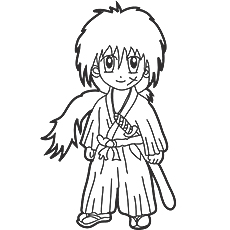 230x230 Top Free Printable Anime Coloring Pages Online