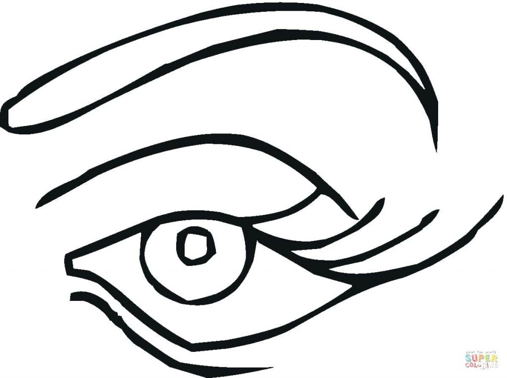 1024x765 Coloring Page Eyes Coloring Page Click The Blue Eye Pages Anime