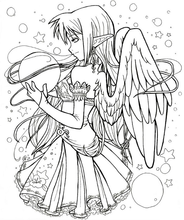 604x720 Image Result For Cute Coloring Pages Anime River's Pins