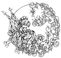 236x224 Valuable Design Ideas Fairy Coloring Pages For Adults Adult