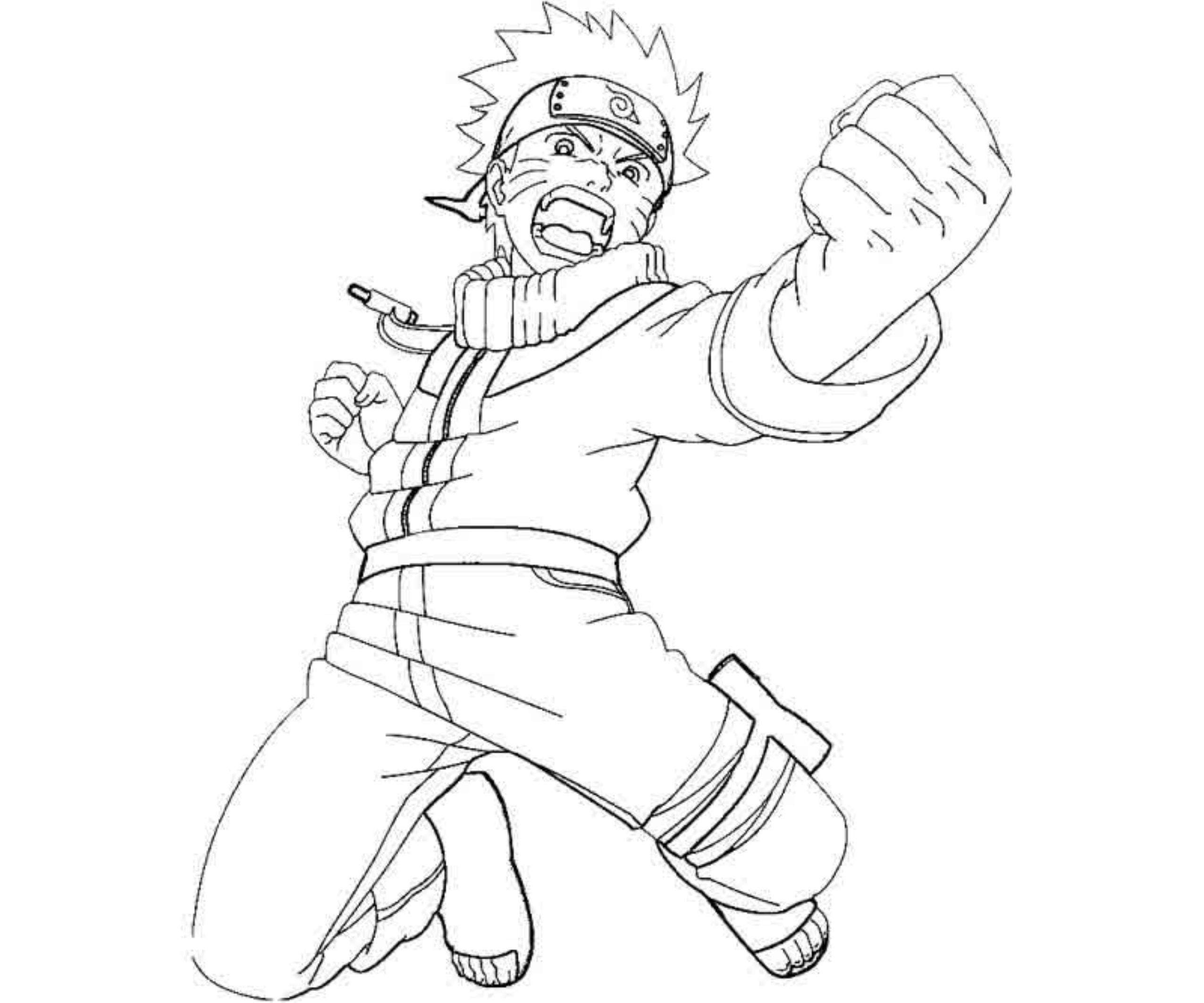 2551x2126 Announcing Naruto Nine Tailed Fox Coloring Pages Anime For Kids