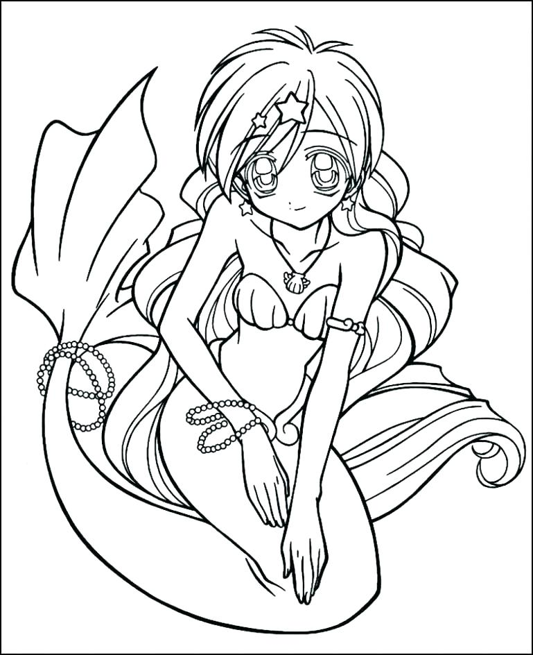 769x944 Cute Girl Coloring Pages Anime Girl Coloring Page Coloring Page