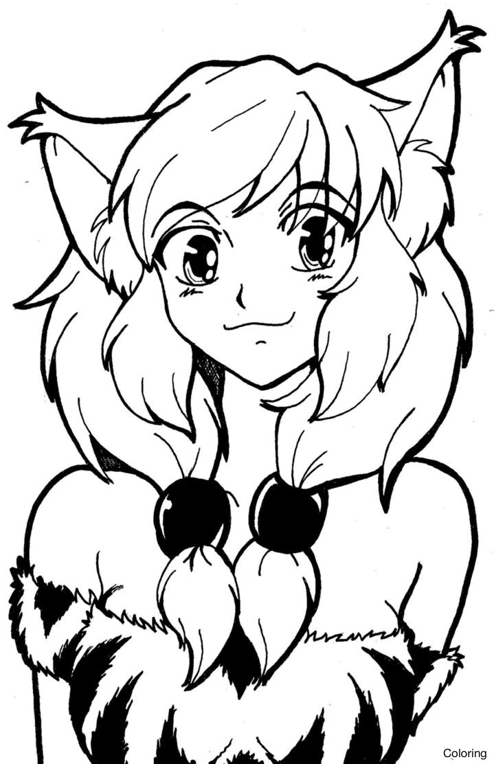 719x1112 Furry Coloring Pages Tixac