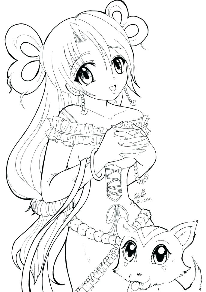 687x971 Star Wars Commander Fox Coloring Pages Anime Printable Girl Free
