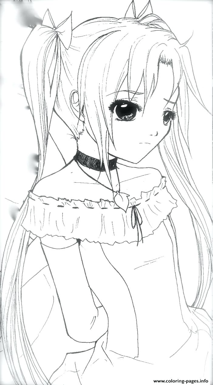 701x1266 Coloring Pages Girl Coloring Pages Adult Anime Girls Little