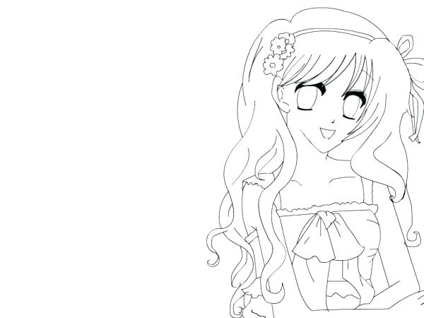 600x450 Anime Girl Coloring Pages Back To Post Cute Anime Girl Coloring