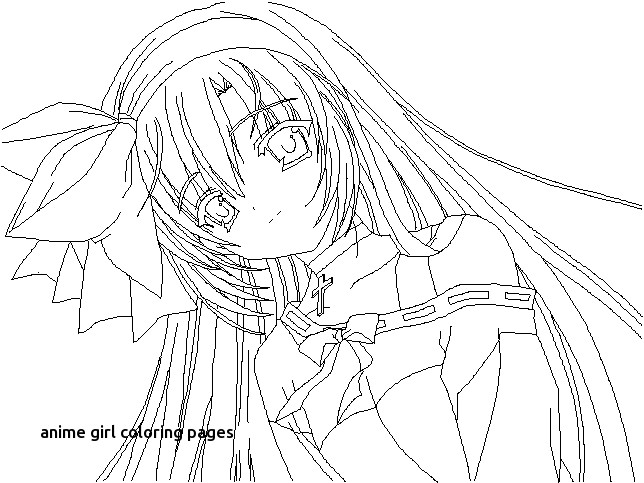 644x483 Manga Print Outs For Anime Girl Coloring Pages