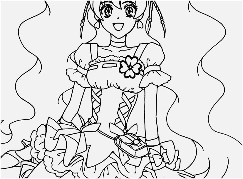 827x609 Anime Coloring Sheets Stock Pretty Cure Anime Girls Coloring Pages