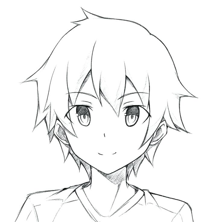 736x736 Anime Guy Coloring Pages Some Of The Benefits Coloring Pages Anime