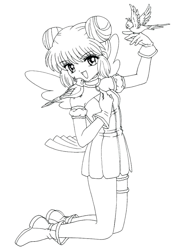 736x1031 Emo Girl Coloring Pages Guy Anime