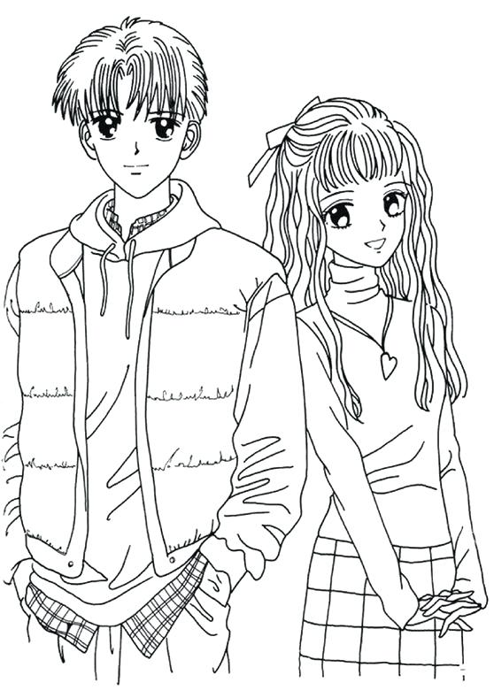 558x789 Free Anime Coloring Pages Sweet Idea Anime Guy Coloring Pages Boy