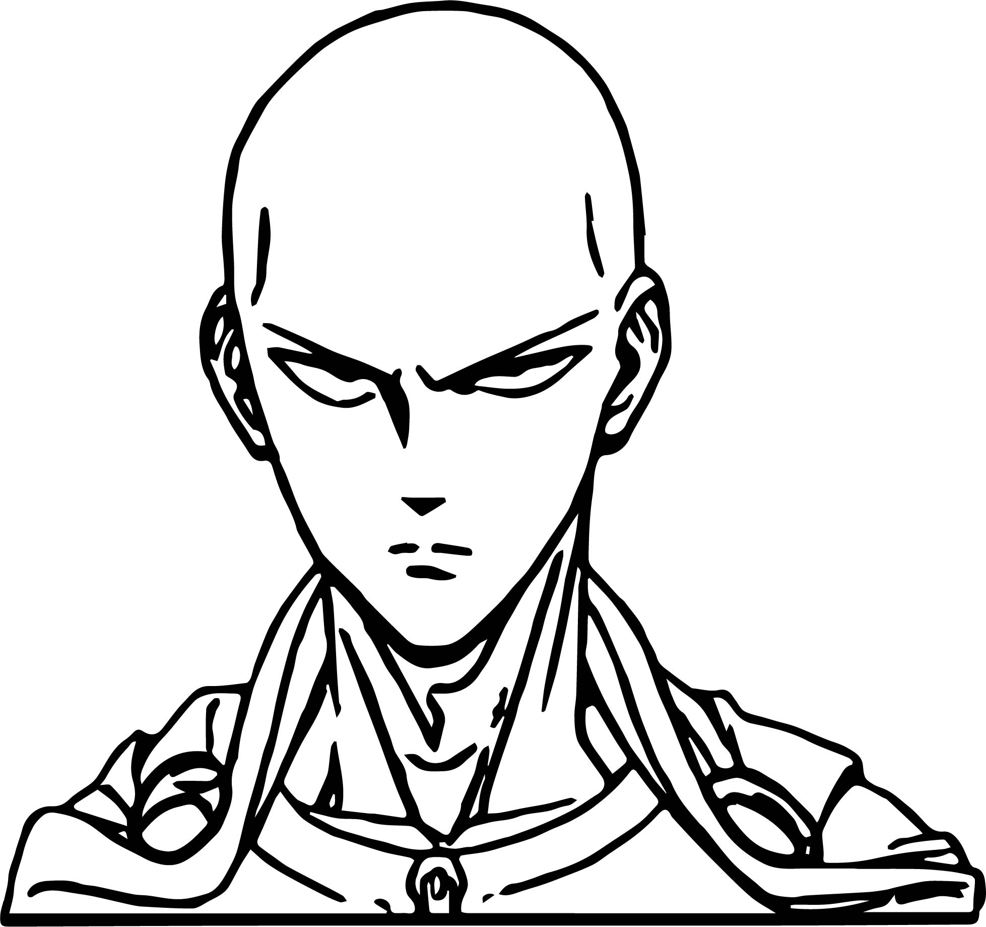 1957x1839 One Punch Man Anime Character Design Saitama Coloring Page