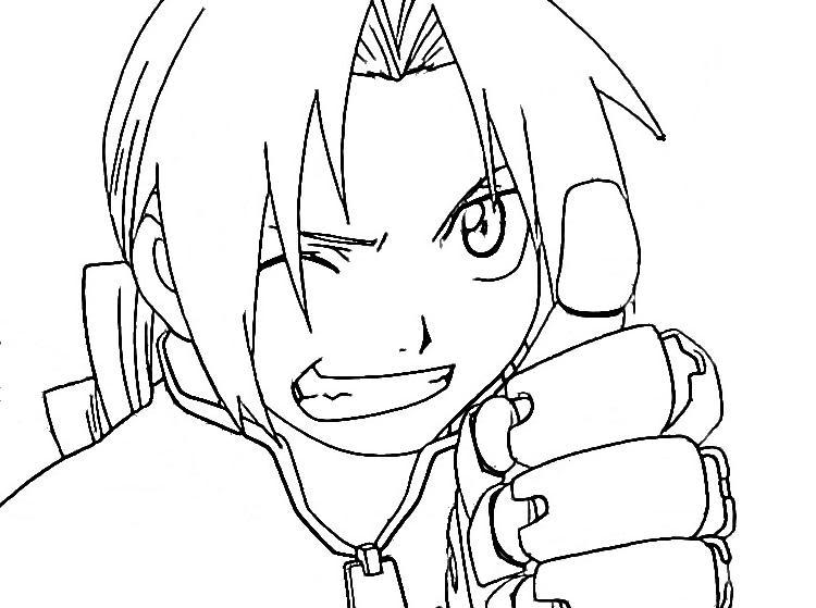 750x559 Sad Anime Boy Coloring Pages