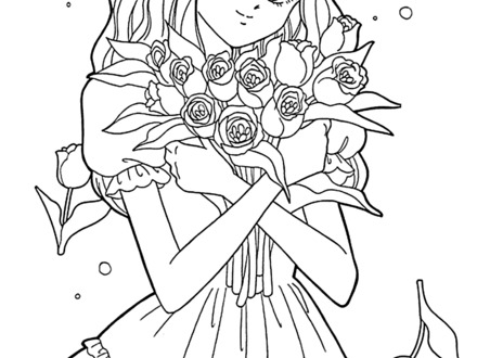 440x330 Anime Coloring Pages For Adults Bestofcoloringcom, Anime Guy