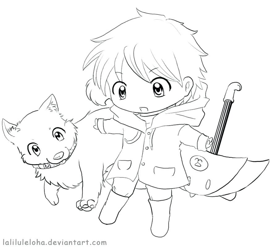 900x800 Anime Guy Coloring Pages Anime Boy