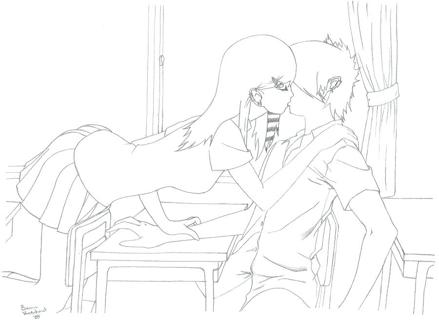 900x658 Kiss Coloring Pages
