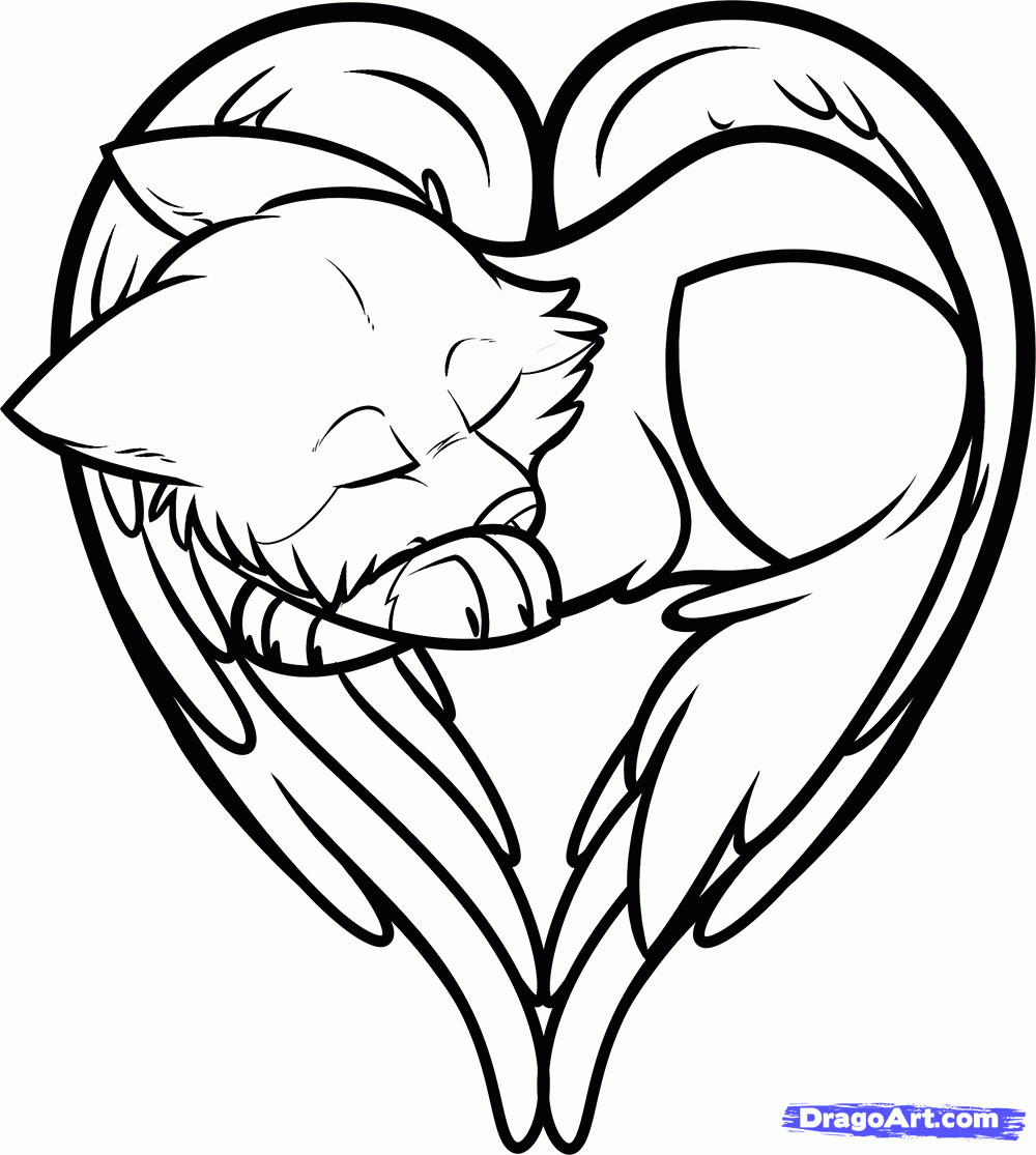 1000x1115 Cool Heart Coloring Pages Acpra