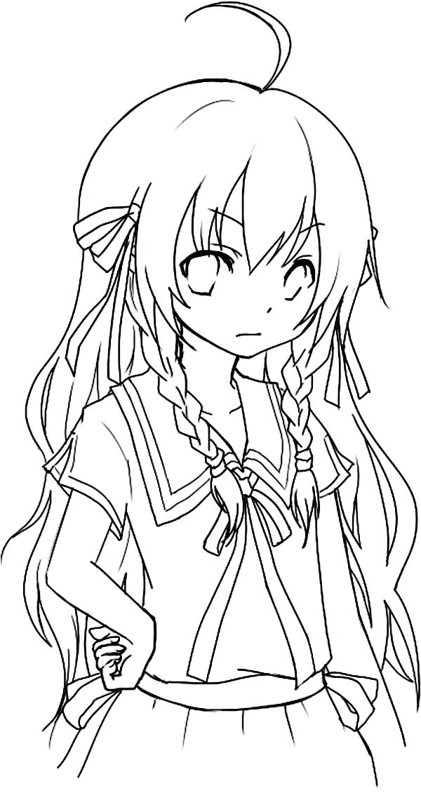 600x1130 Best Of Anime Coloring Pages Or Anime Coloring Books In Addition