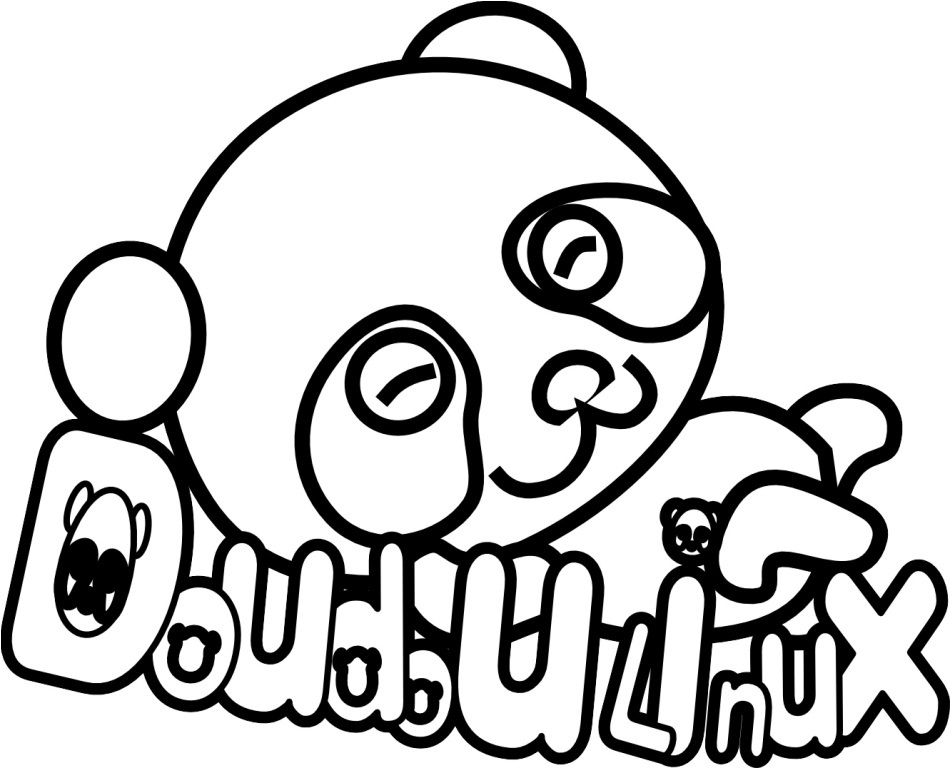 Anime Panda Coloring Pages