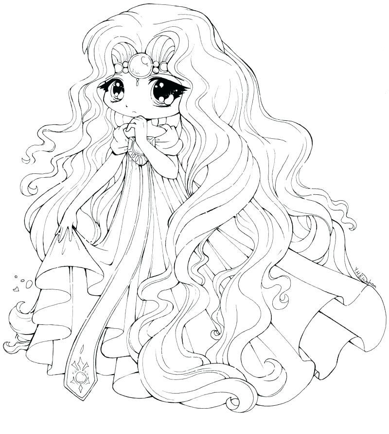 800x891 Anime Princess Coloring Pages Anime Princess Coloring Pages Anime
