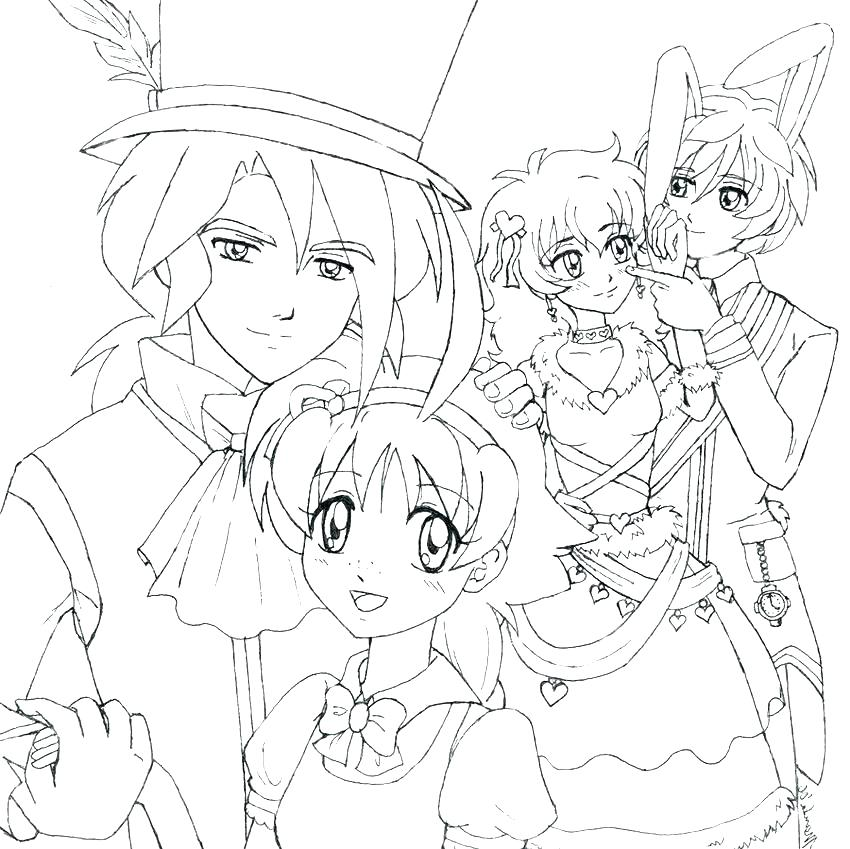 850x849 Anime Princess Colouring Pages Twin Towers Coloring Festive Fourth