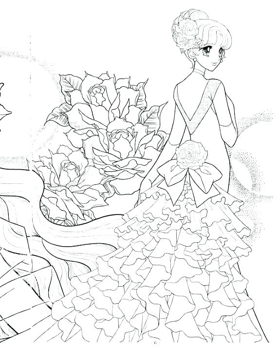 571x720 Chibi Coloring Page Coloring Pages Mermaid Colouring Pages Anime