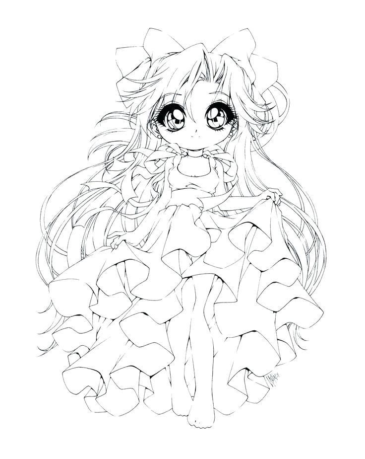 736x924 Chibi Coloring Pages Anime Princess Coloring Pages Coloring Pages